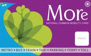 More Card: National Common Mobility Card