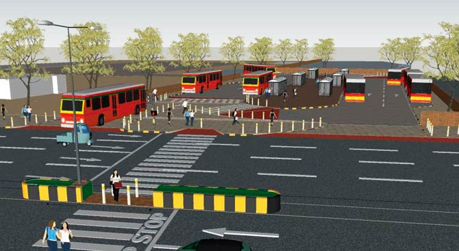 Dindoshi Depot Render by WRI India