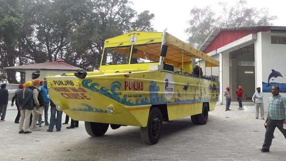 The Harike Water Bus. Image via Twitter.
