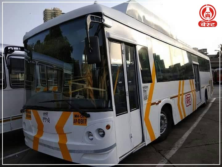 AC BEST bus with new livery